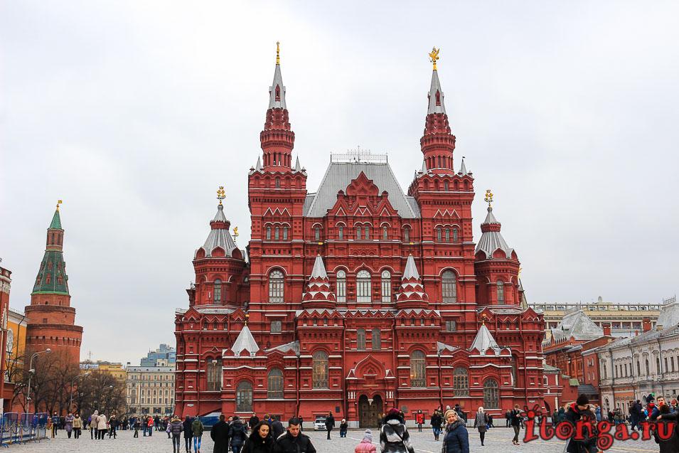 обзорная экскурсия по Москве на автобусе, красная площадь, что посмотреть в Москве за 1 день