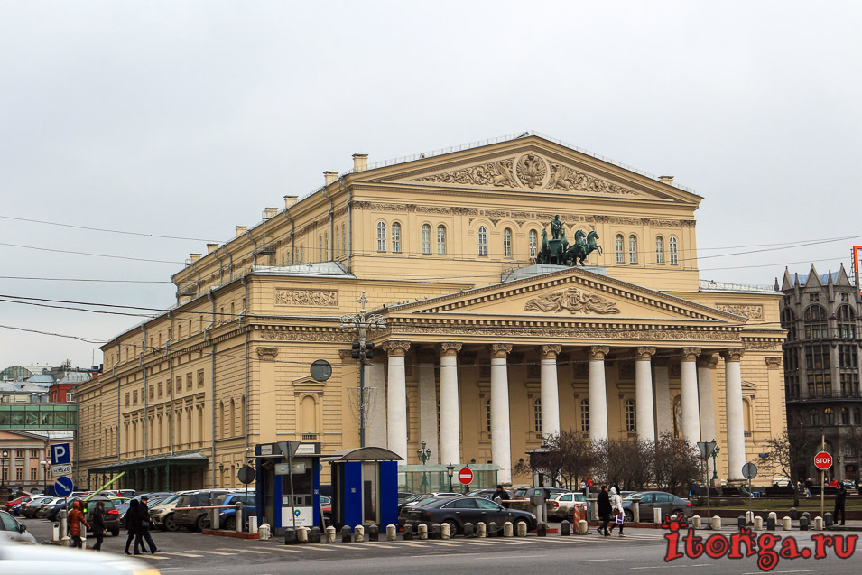 Москва, что посмотреть в Москве за 1 день