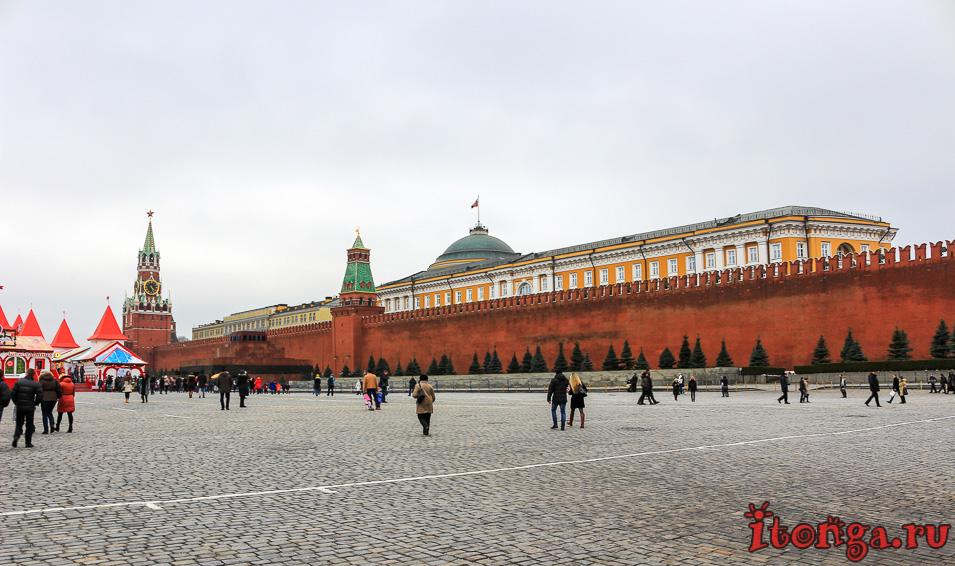 обзорная автобусная экскурсия по Москве, красная площадь, что посмотреть в Москве за 1 день