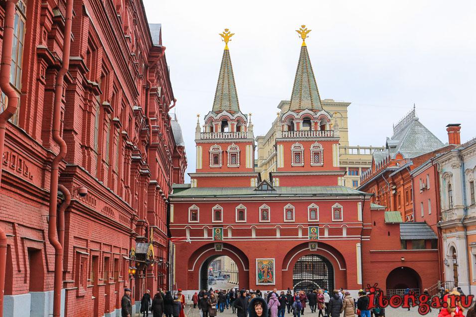 Воскресенские ворота, Красная площадь, Москва