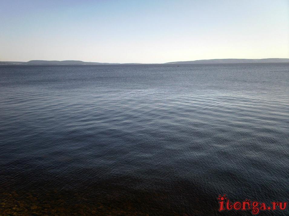 что можно посмотреть в Тольятти, Жигулёвское море