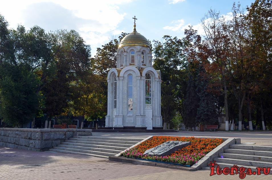 белгород, часовня, соборная площадь