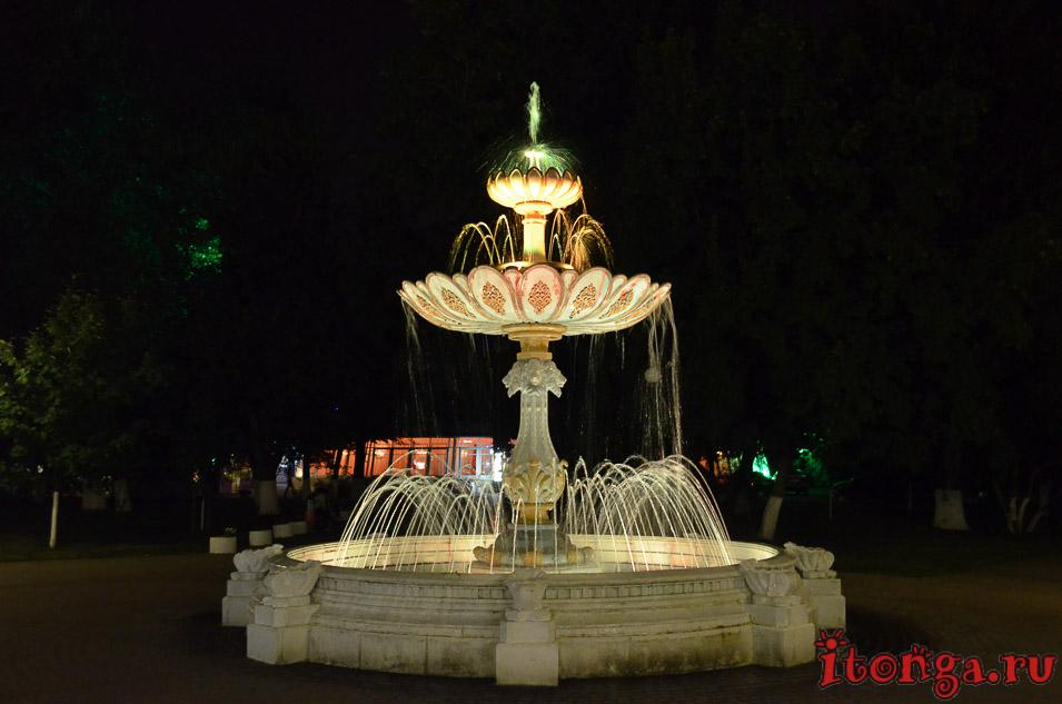 достопримечательности белгорода, горсад, фонтан