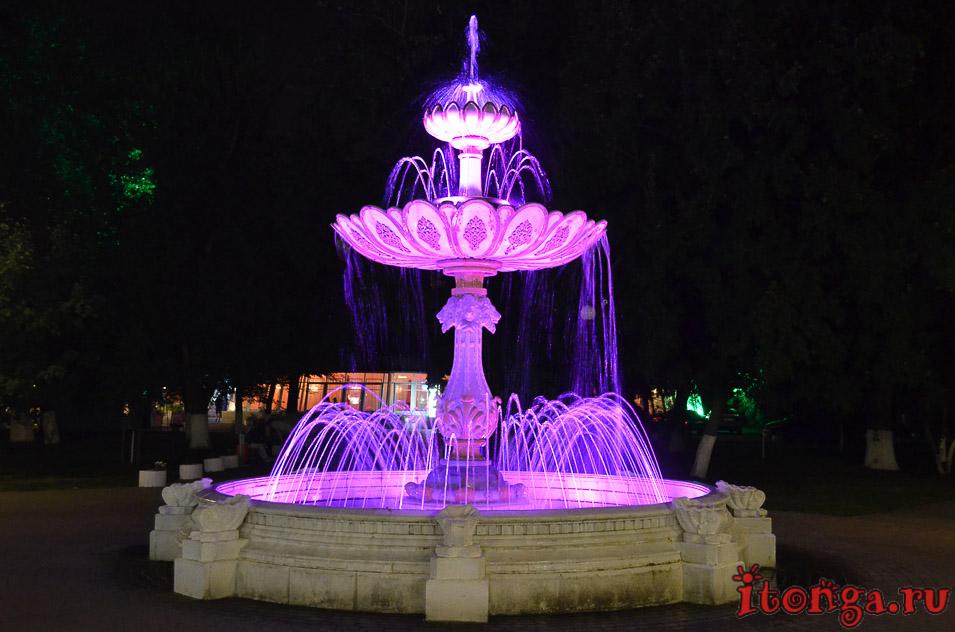 достопримечательности, белгорода, горсад, фонтан