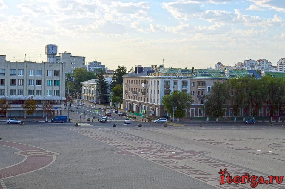белгород, соборная площадь белгорода