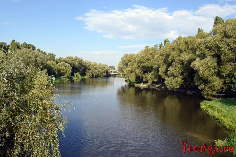 белгород, река, парк