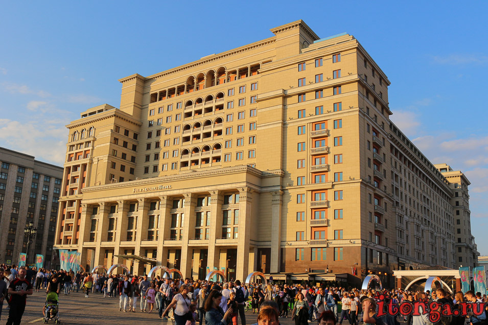 гостиница на Красной площади в Москве