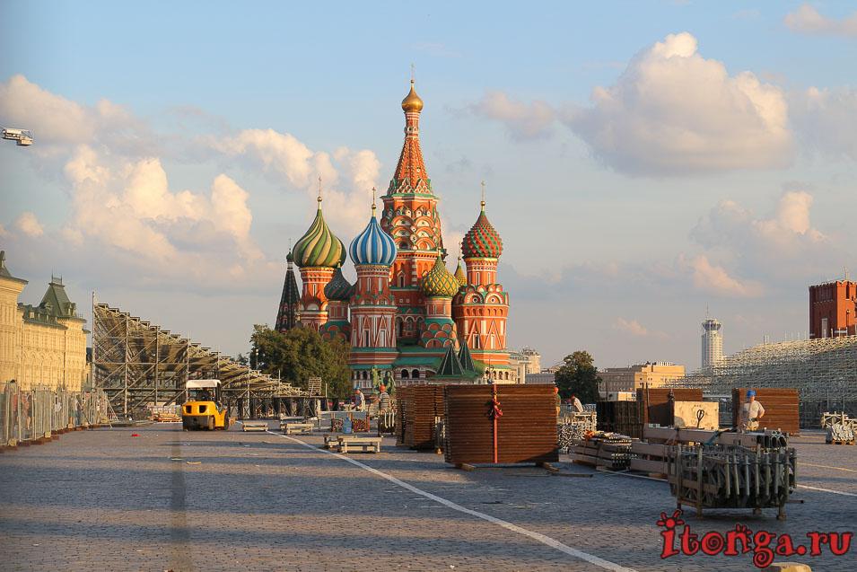 Красная площадь закрыта, Москва,