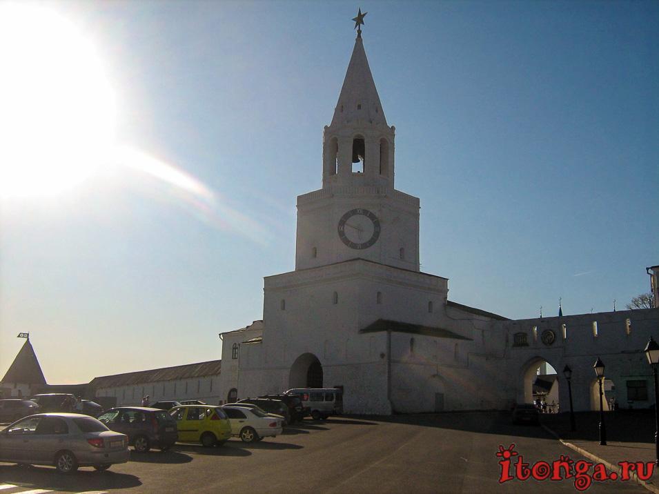 Кремль в Казани, Спасская башня