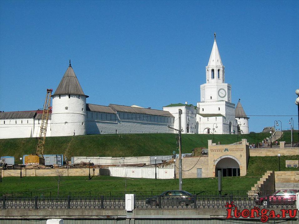 Кремль Казани, Татарстан, площадь Тысячелетия