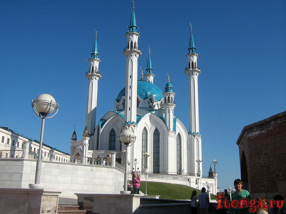 мечеть в кремле, Казань