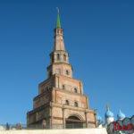 Падающая башня в Казани - башня Сююмбике