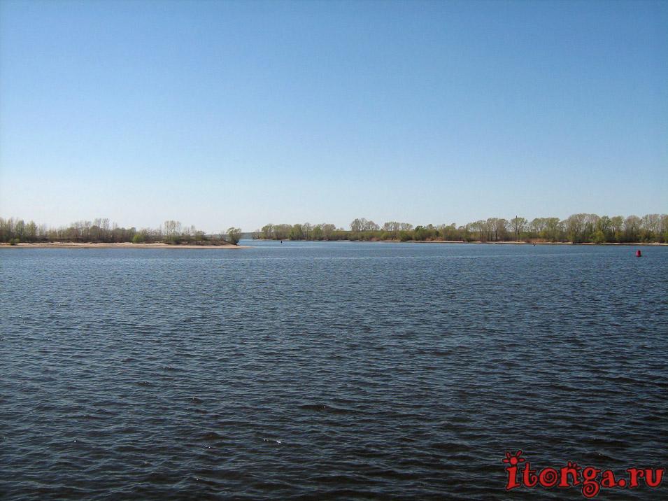 Волга, речные круизы из Казани