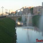 Казань. Парк Тысячелетия, площадь Тысячелетия и канал Булак
