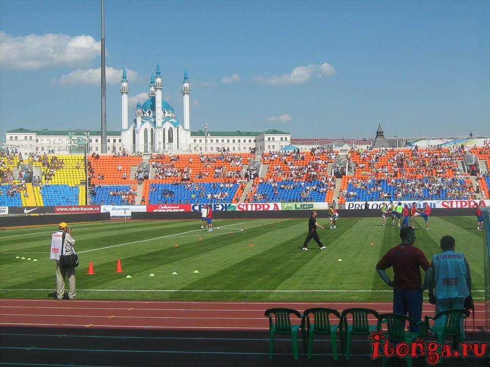 Площадь Тысячелетия, Казань, центральный стадион