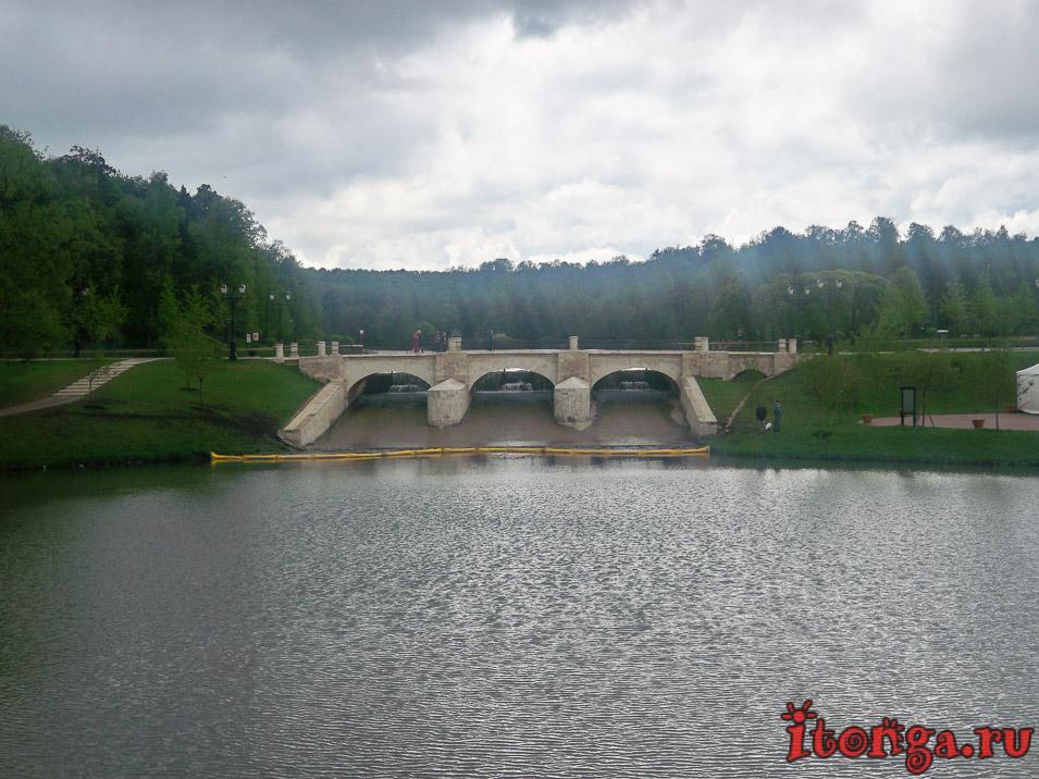 царицыно, парк, плотина, пруды