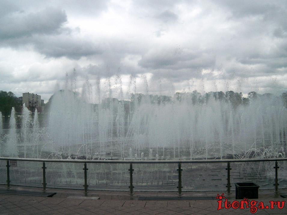 царицыно, парк, фонтан