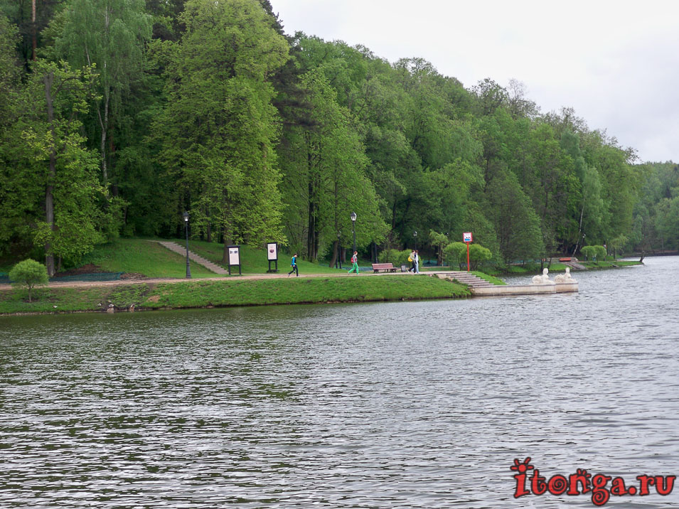 царицыно, парк, пруды