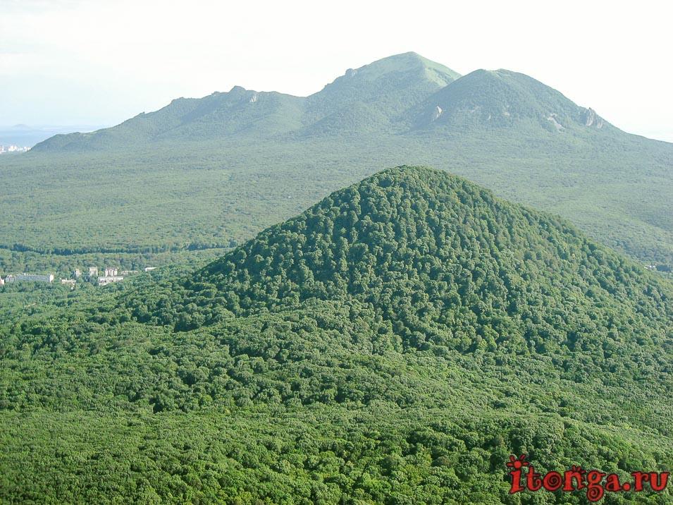 гора Железная, Железноводск, вид с Развалки