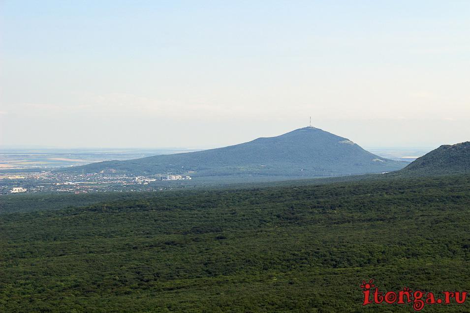 гора Железная, смотровая площадка, Машук