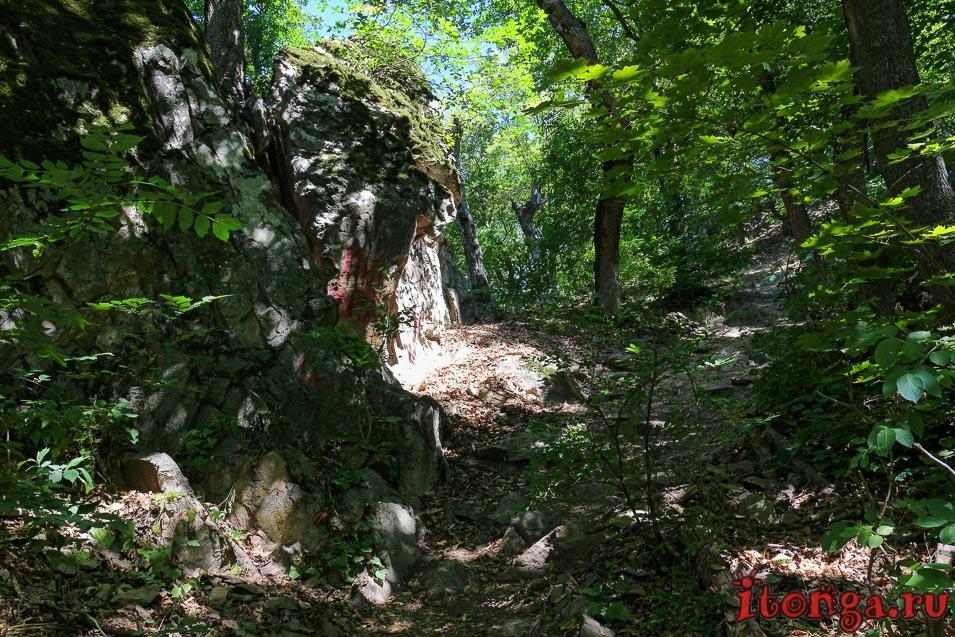 подъём на гору Железная в Железноводске