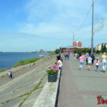 Набережная Томска - фото, описание