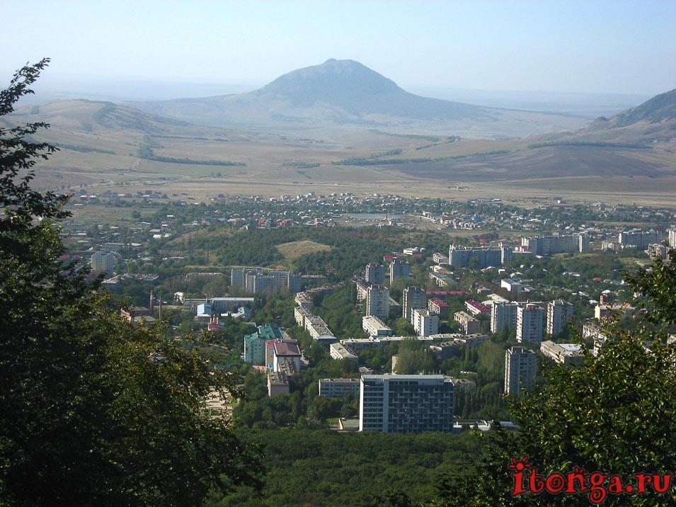 подъём на гору Железная, Железноводск, гора Бык