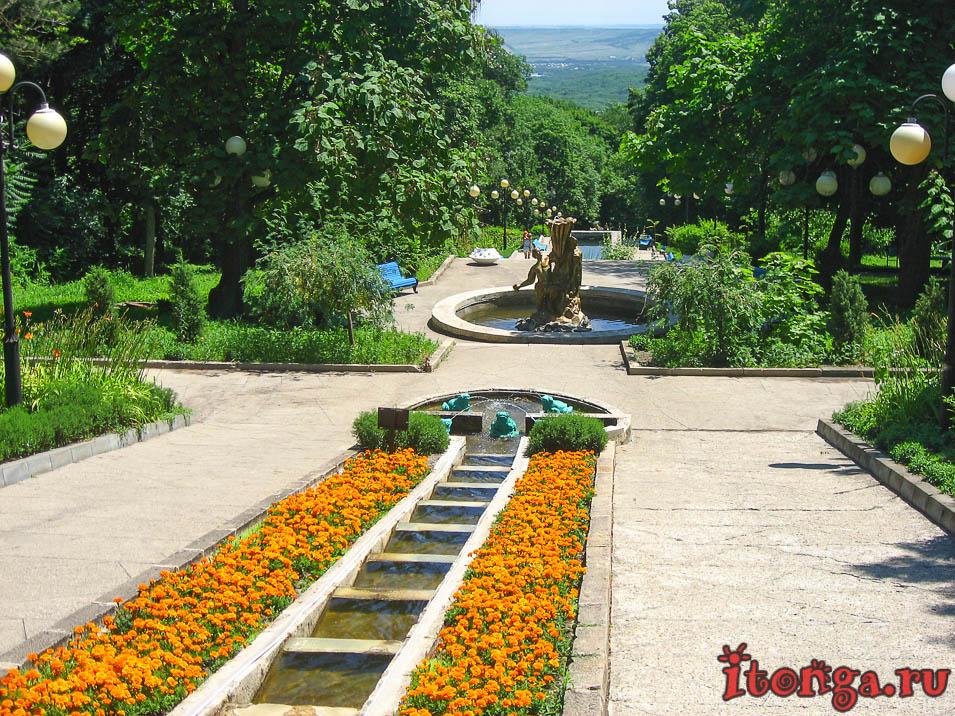 каскадная лестница, Железноводск