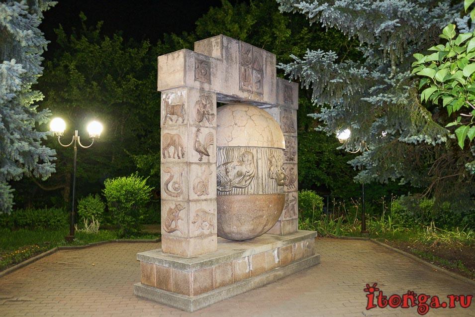 ночной Железноводск