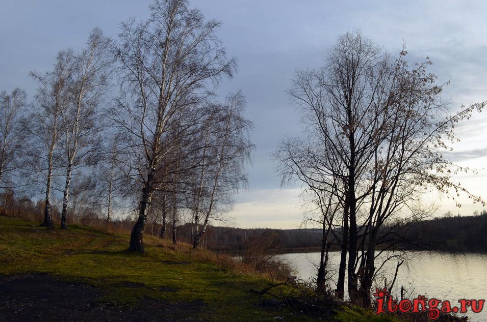 пейзажи Сибири фото, осень, озеро