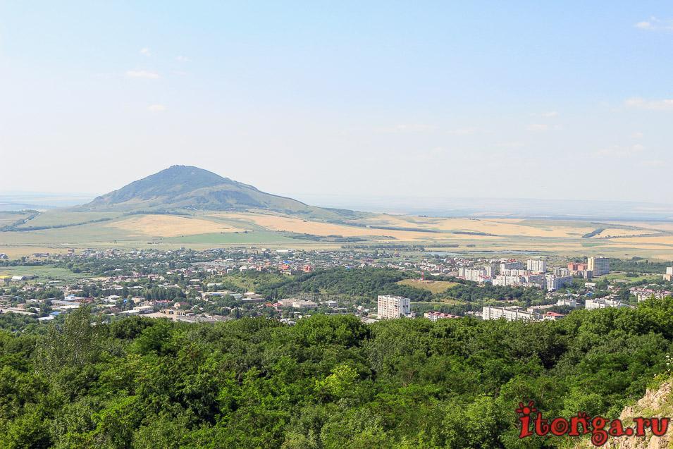 гора бык, плато горы Медовой