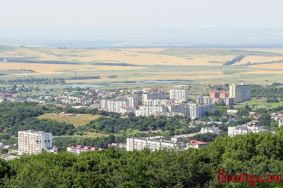 Железноводск, вид с горы Медовая