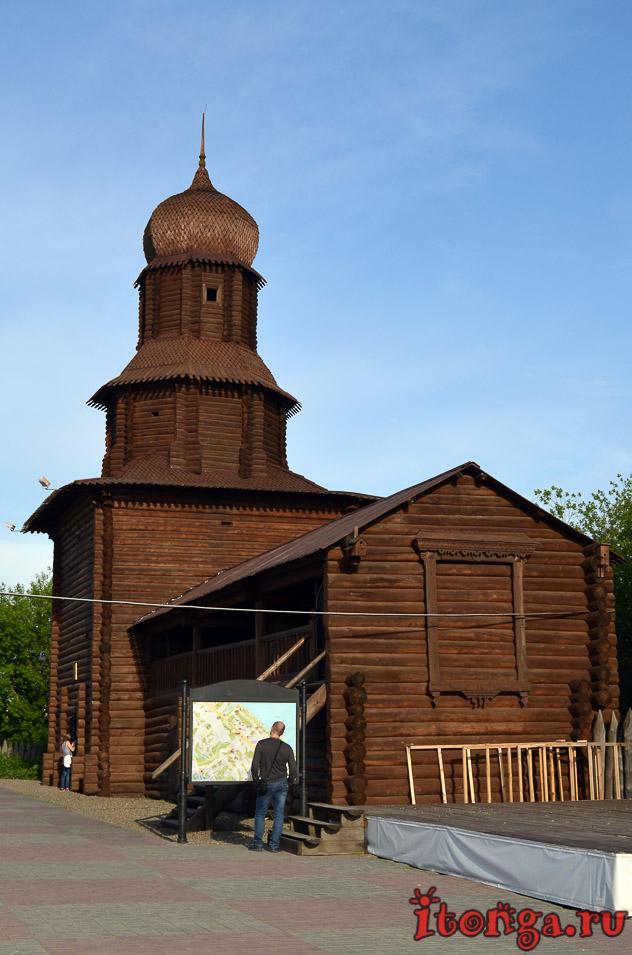 томская крепость, воскресенская гора томск