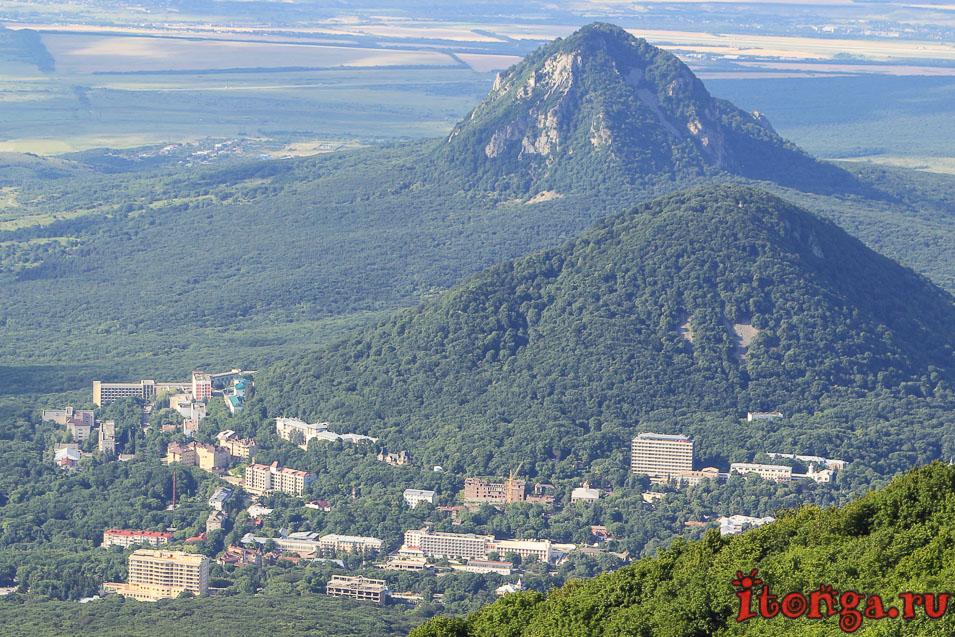 Гора Развалка, гора Железная, Железноводск
