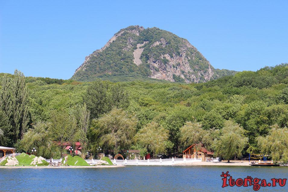 гора Развалка, Железноводск, курортное озеро, 30 лет Победы