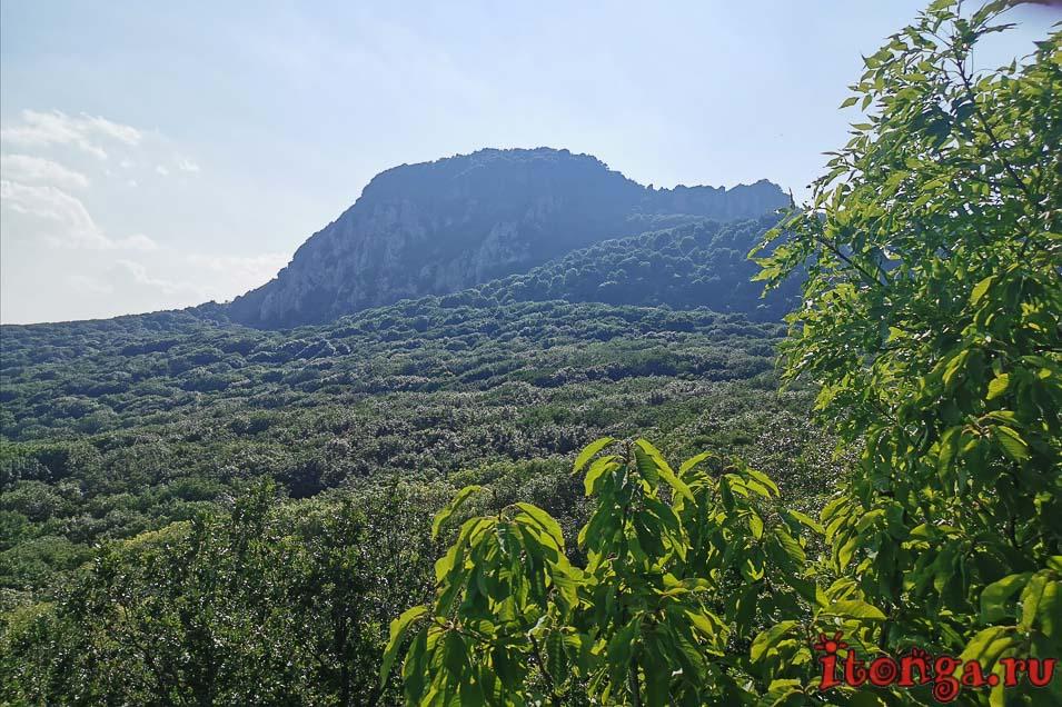 гора Развалка, Железноводск, Селитряные скалы