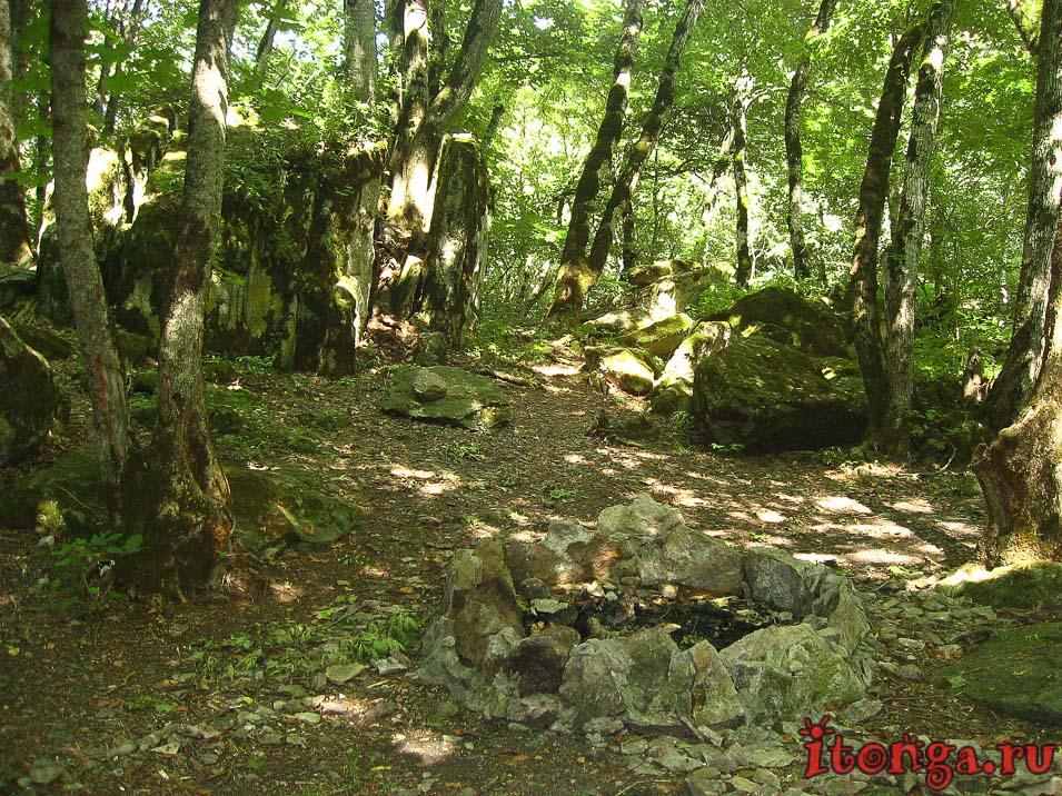гора Развалка, аланское городище