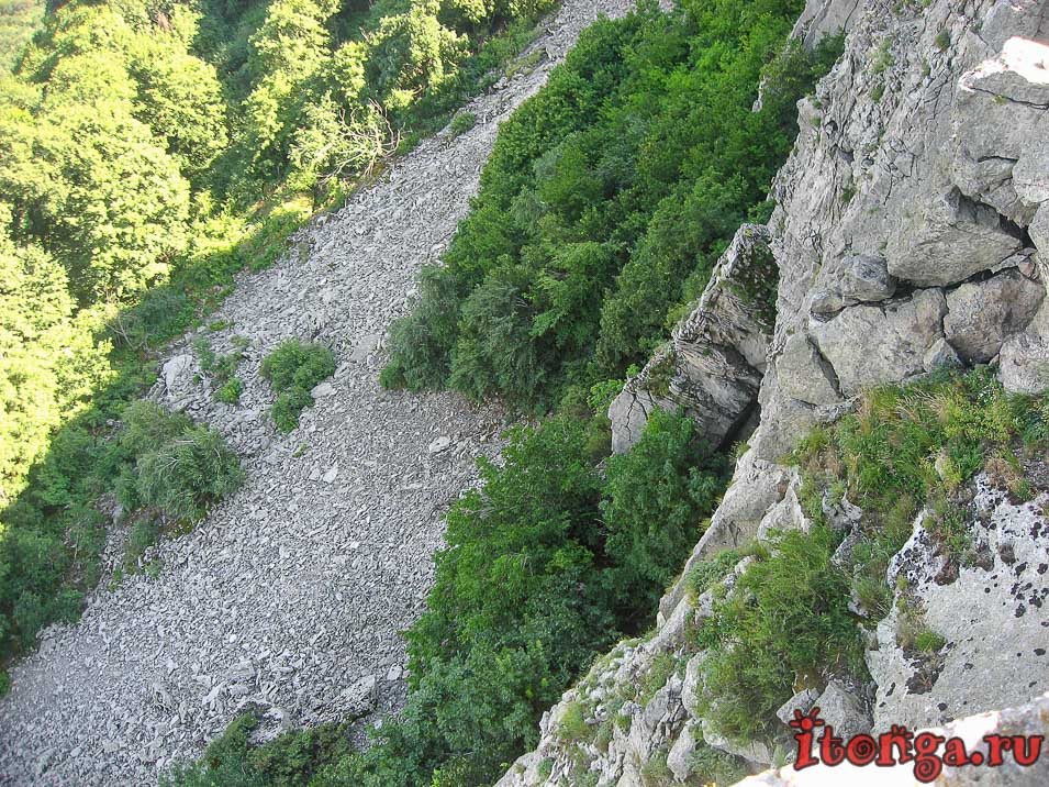 гора Развалка в Железноводске