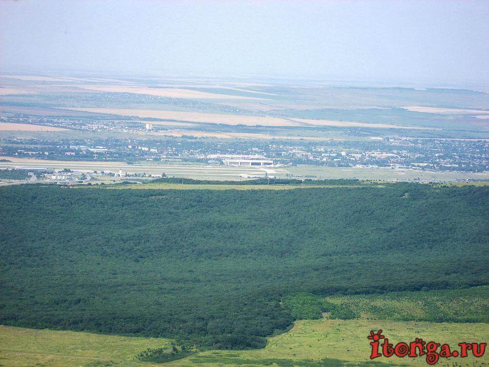 вид с вершины Развалки, Железноводск,