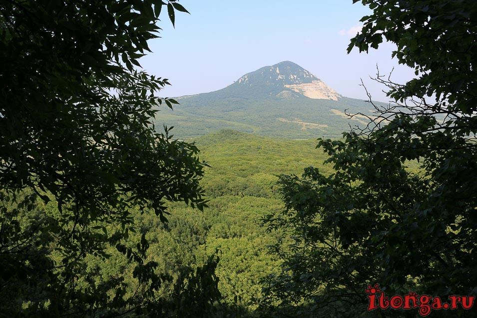 селитряные скалы, Железноводск, гора Змейка