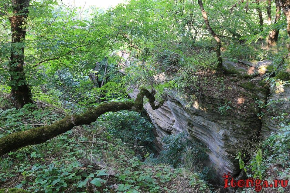 селитряные скалы, Железноводск