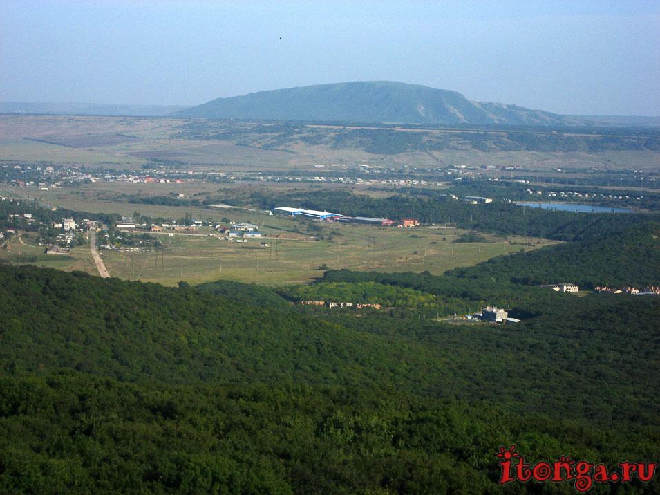 селитряные скалы в Железноводске, гора Лысая