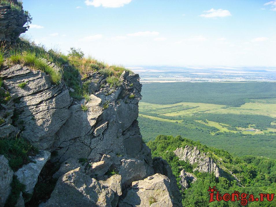 гора Развалка, Железноводск, вершина