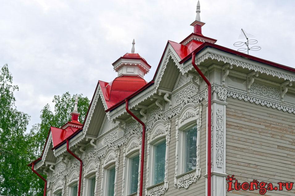деревянная архитектура томска, улица дзержинского