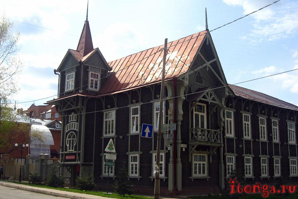 архитектура томска, дом со шпилем, зодчество