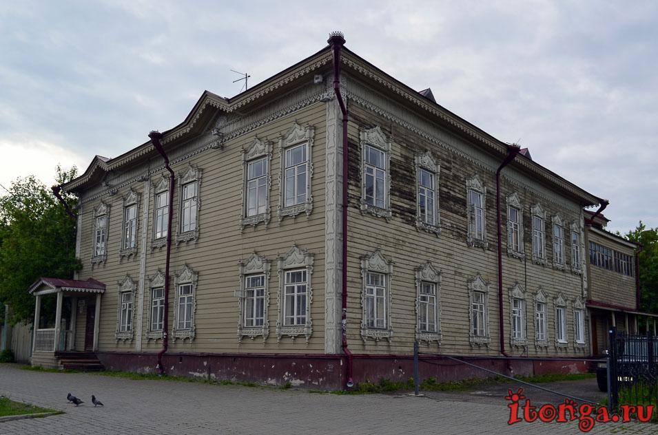 деревянное зодчество томска, архитектура