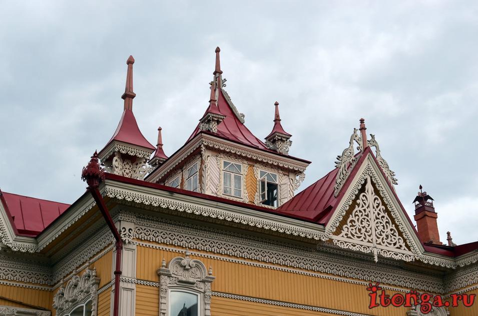 архитектура томска, деревянные дома