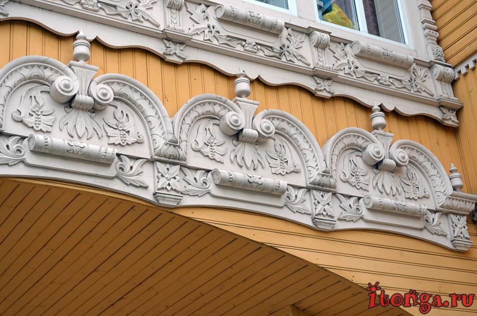 архитектура томска, деревянное зодчество