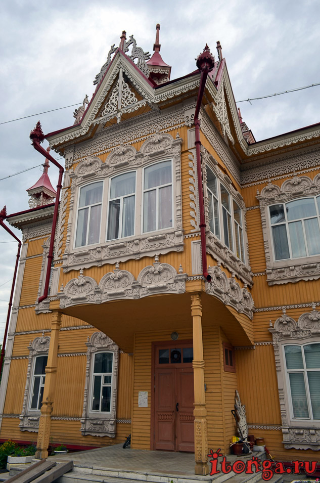 архитектура томска, дом с жар птицами