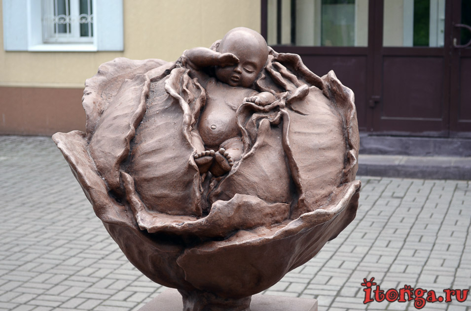 томск, скульптура
